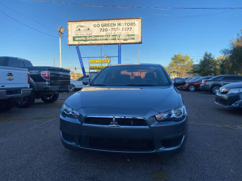 2014 Mitsubishi Lancer for sale at GO GREEN MOTORS in Lakewood CO