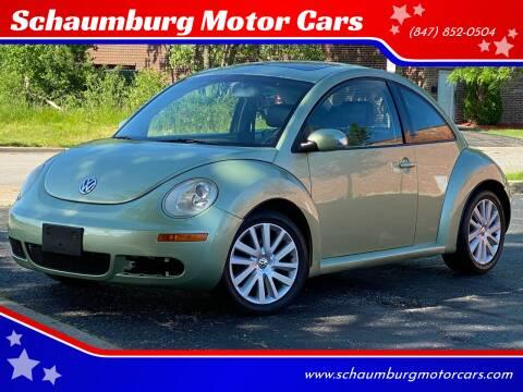 2008 Volkswagen New Beetle for sale at Schaumburg Motor Cars in Schaumburg IL