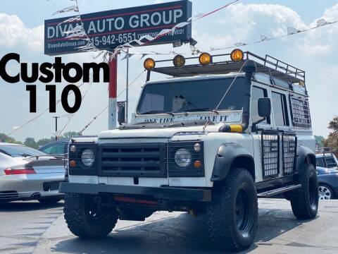 1987 Land Rover Defender for sale at Divan Auto Group in Feasterville Trevose PA