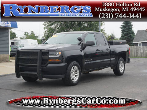 2016 Chevrolet Silverado 1500 for sale at Rynbergs Car Co in Muskegon MI