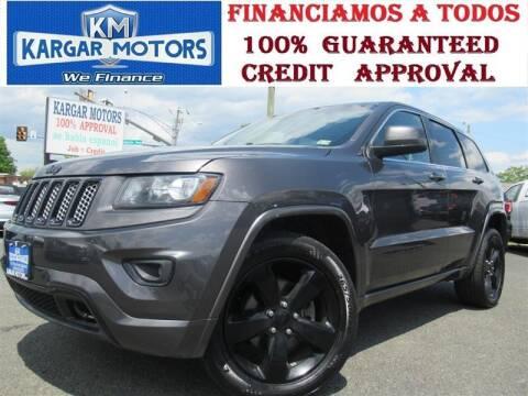 2015 Jeep Grand Cherokee for sale at Kargar Motors of Manassas in Manassas VA