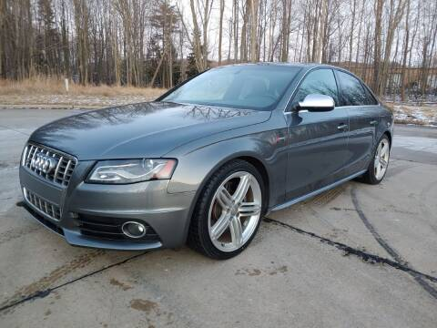 2012 Audi S4 for sale at Autolika Cars LLC in North Royalton OH