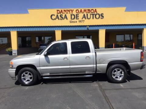 2005 GMC Sierra 1500 for sale at CASA DE AUTOS, INC in Las Cruces NM