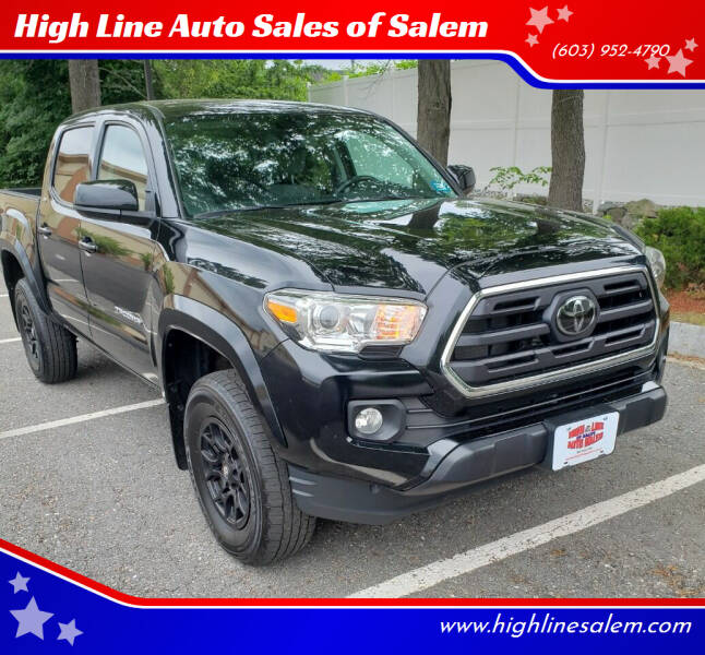 2019 Toyota Tacoma for sale at High Line Auto Sales of Salem in Salem NH