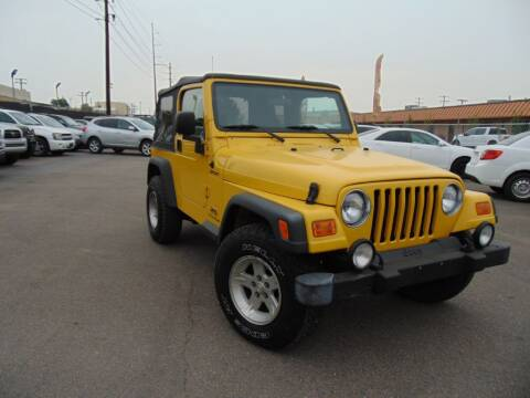2004 Jeep Wrangler for sale at Avalanche Auto Sales in Denver CO