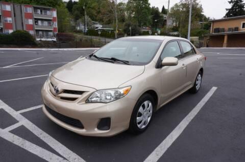 2011 Toyota Corolla for sale at Precision Motors LLC in Renton WA