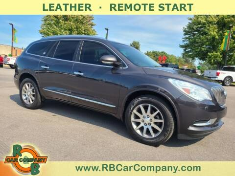 2015 Buick Enclave for sale at R & B Car Company in South Bend IN