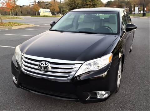 2011 Toyota Avalon for sale at memar auto sales, inc. in Marietta GA
