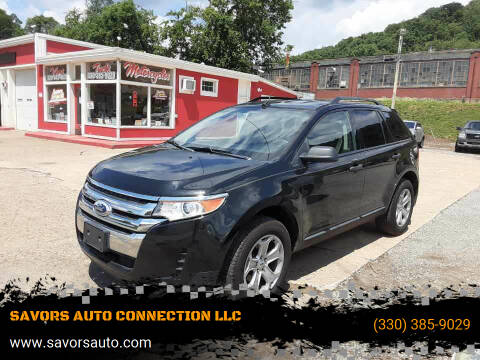 2013 Ford Edge for sale at SAVORS AUTO CONNECTION LLC in East Liverpool OH