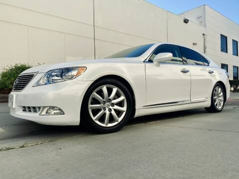 2007 Lexus LS 460 for sale at New City Auto - Retail Inventory in South El Monte CA