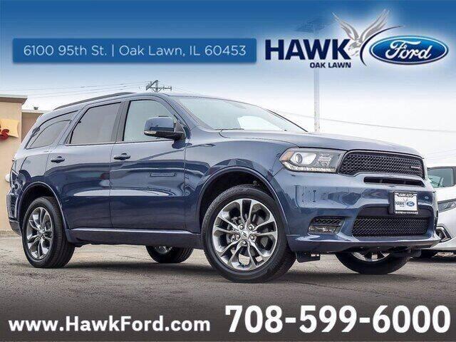 2020 Dodge Durango for sale at Hawk Ford of Oak Lawn in Oak Lawn IL