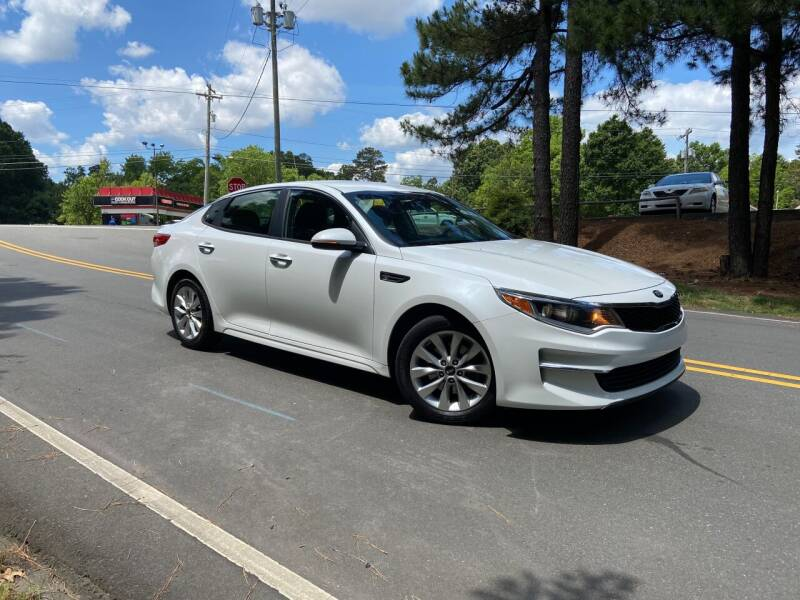 2016 Kia Optima for sale at THE AUTO FINDERS in Durham NC