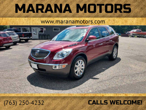 2011 Buick Enclave for sale at Marana Motors in Princeton MN