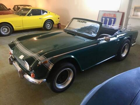 1968 Triumph TR250 for sale at LEATHER AND WOOD MOTORS in Pontoon Beach IL