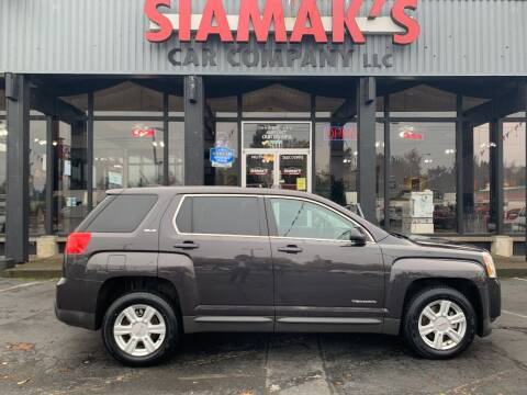 2015 GMC Terrain for sale at Siamak's Car Company llc in Salem OR