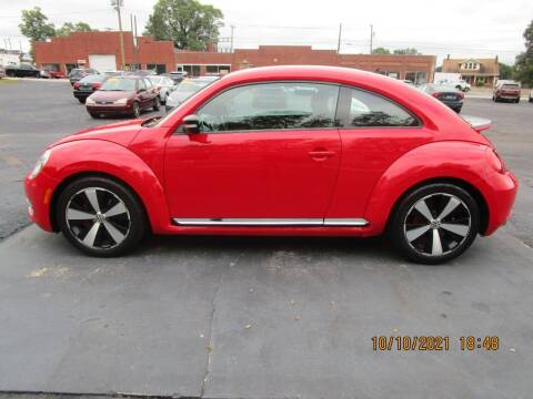 2012 Volkswagen Beetle for sale at Taylorsville Auto Mart in Taylorsville NC