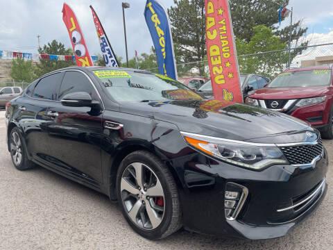 2018 Kia Optima for sale at Duke City Auto LLC in Gallup NM