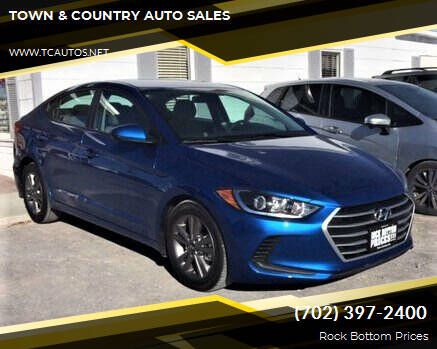 2017 Hyundai Elantra for sale at TOWN & COUNTRY AUTO SALES in Overton NV