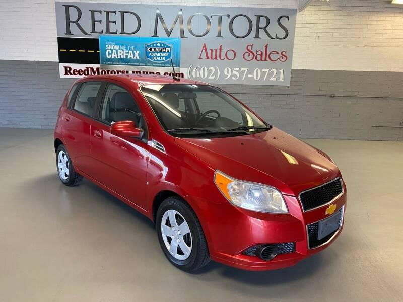 2009 Chevrolet Aveo for sale at REED MOTORS LLC in Phoenix AZ