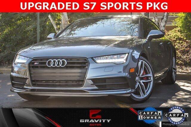 2017 Audi S7 for sale at Gravity Autos Atlanta in Atlanta GA