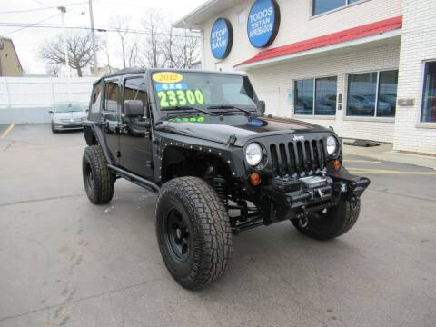 2012 Jeep Wrangler Unlimited for sale at Auto Land Inc in Crest Hill IL