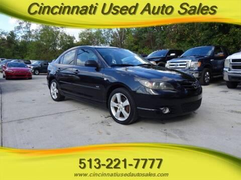 2006 Mazda MAZDA3 for sale at Cincinnati Used Auto Sales in Cincinnati OH