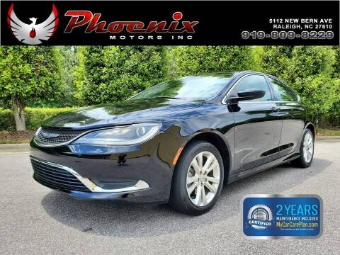 2017 Chrysler 200 for sale at Phoenix Motors Inc in Raleigh NC