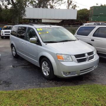 2008 Dodge Grand Caravan for sale at Easy Credit Auto Sales in Cocoa FL