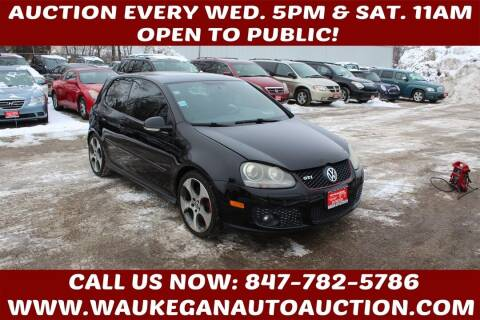2008 Volkswagen GTI for sale at Waukegan Auto Auction in Waukegan IL