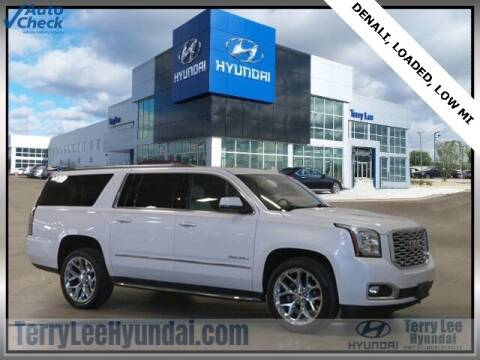 2018 GMC Yukon XL for sale at Terry Lee Hyundai in Noblesville IN