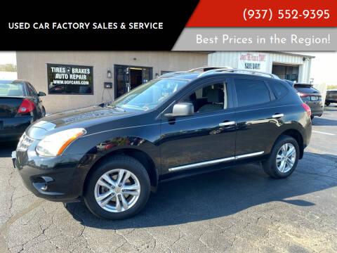 2015 Nissan Rogue Select for sale at Used Car Factory Sales & Service Troy in Troy OH