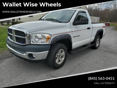 2007 Dodge Ram Pickup 1500 for sale at Wallet Wise Wheels in Montgomery NY