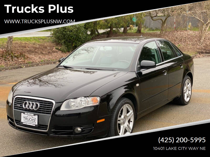2007 Audi A4 for sale at Trucks Plus in Seattle WA