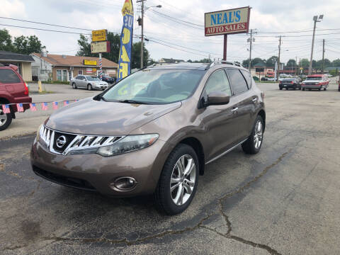 2009 Nissan Murano for sale at Neals Auto Sales in Louisville KY