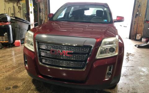 2010 GMC Terrain for sale at Six Brothers Auto Sales in Youngstown OH