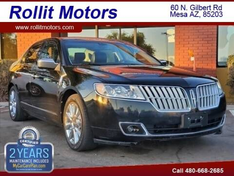 2012 Lincoln MKZ for sale at Rollit Motors in Mesa AZ
