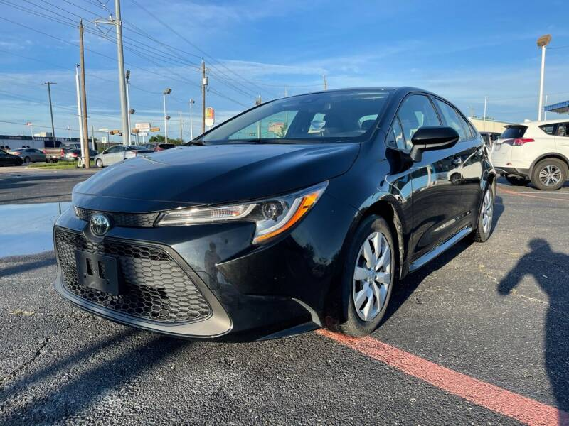 2020 Toyota Corolla for sale at SOLID MOTORS LLC in Garland TX