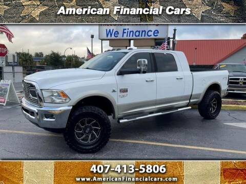 2011 RAM Ram Pickup 2500 for sale at American Financial Cars in Orlando FL