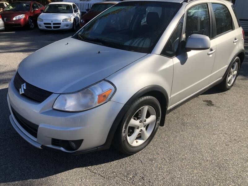 2007 Suzuki SX4 Crossover for sale at Auto Cars in Murrells Inlet SC