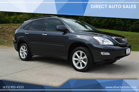 2009 Lexus RX 350 for sale at Direct Auto Sales in Franklin TN