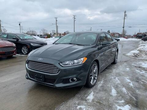 2015 Ford Fusion for sale at Crooza in Dearborn MI