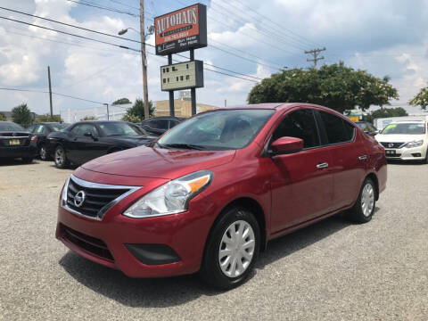 2016 Nissan Versa for sale at Autohaus of Greensboro in Greensboro NC