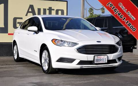 2018 Ford Fusion Hybrid for sale at H1 Auto Group in Sacramento CA