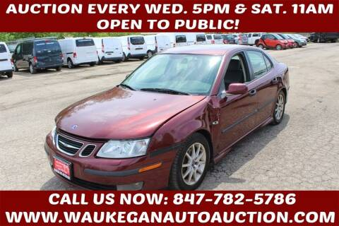 2003 Saab 9-3 for sale at Waukegan Auto Auction in Waukegan IL