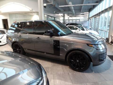 2019 Land Rover Range Rover for sale at Motorcars Washington in Chantilly VA