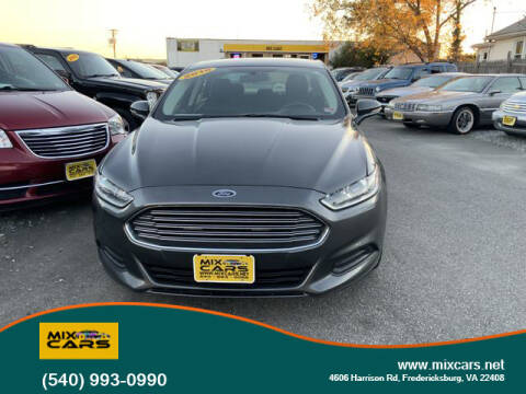 2016 Ford Fusion for sale at Mix Cars in Fredericksburg VA