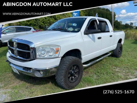 2007 Dodge Ram Pickup 1500 for sale at ABINGDON AUTOMART LLC in Abingdon VA
