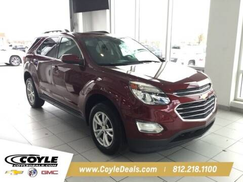 2017 Chevrolet Equinox for sale at COYLE GM - COYLE NISSAN in Clarksville IN