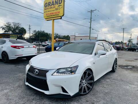 2013 Lexus GS 350 for sale at Grand Auto Sales in Tampa FL