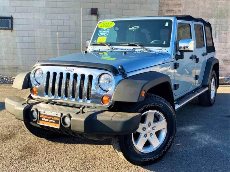 2012 Jeep Wrangler Unlimited for sale at Somerville Motors in Somerville MA